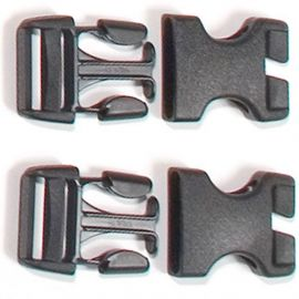 Stealth side-release buckles for Rack-Pack