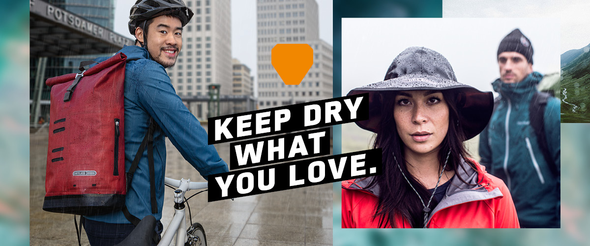 Keep dry what you love.
