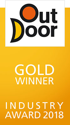 Gold Winner at Outdoor Fair Industry Award in Friedrichshafen